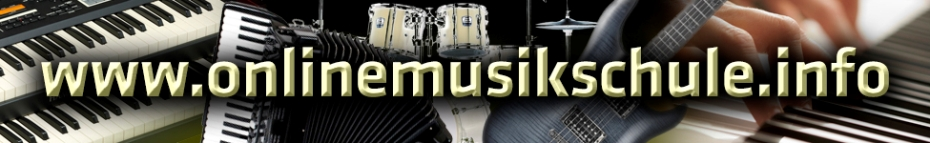 onlinemusikschule logo klavier keyboard akkordeon