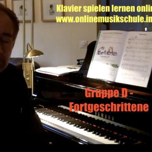 klavier-gruppe d - onlinemusikschule
